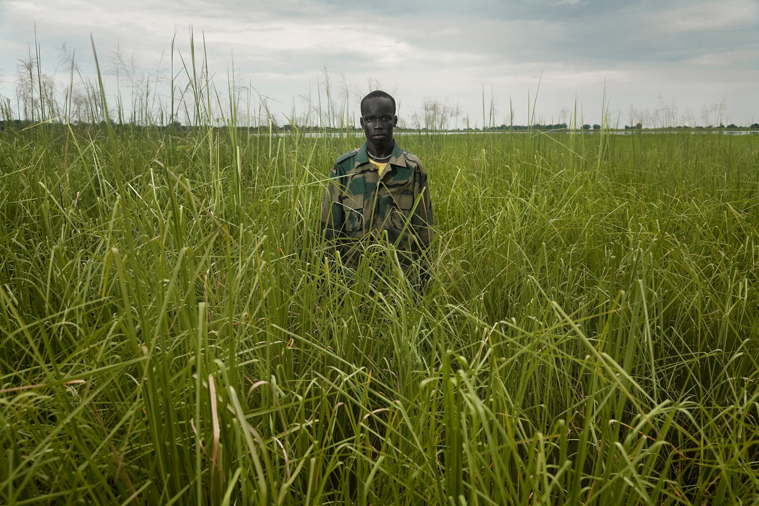 Umod, 2012. Lo inevitable is a series of photographs taken in Gambela (west of Ethiopia) in 2012.